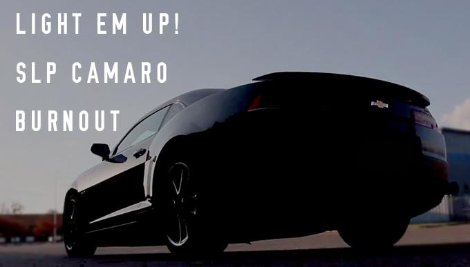 2013 SLP Camaro Burnout