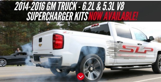 GM Truck Supercharger