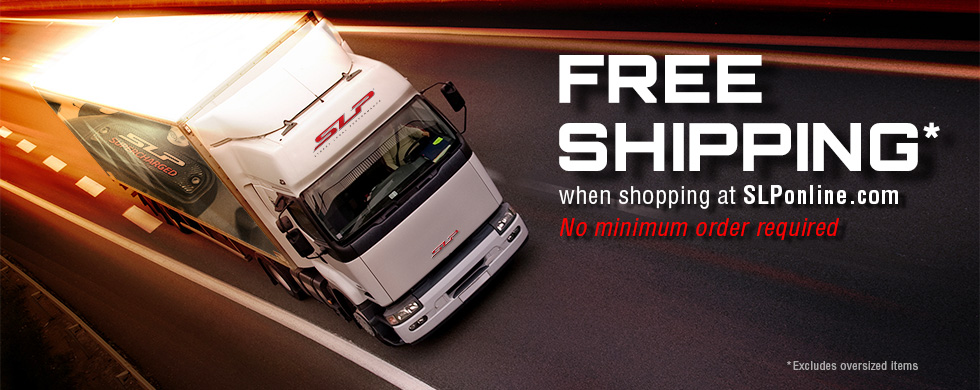 Free shipping with no minimum excluding over-sized items