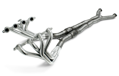 2009-2013 Corvette Header Package - Long Tube Header with Cats, PowerFlo-X Crossover