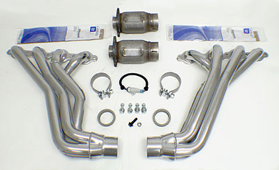"2008-2009 G8 GT/GXP 1-3/4"" Long-Tube Headers - High-Flow Cats Image #"