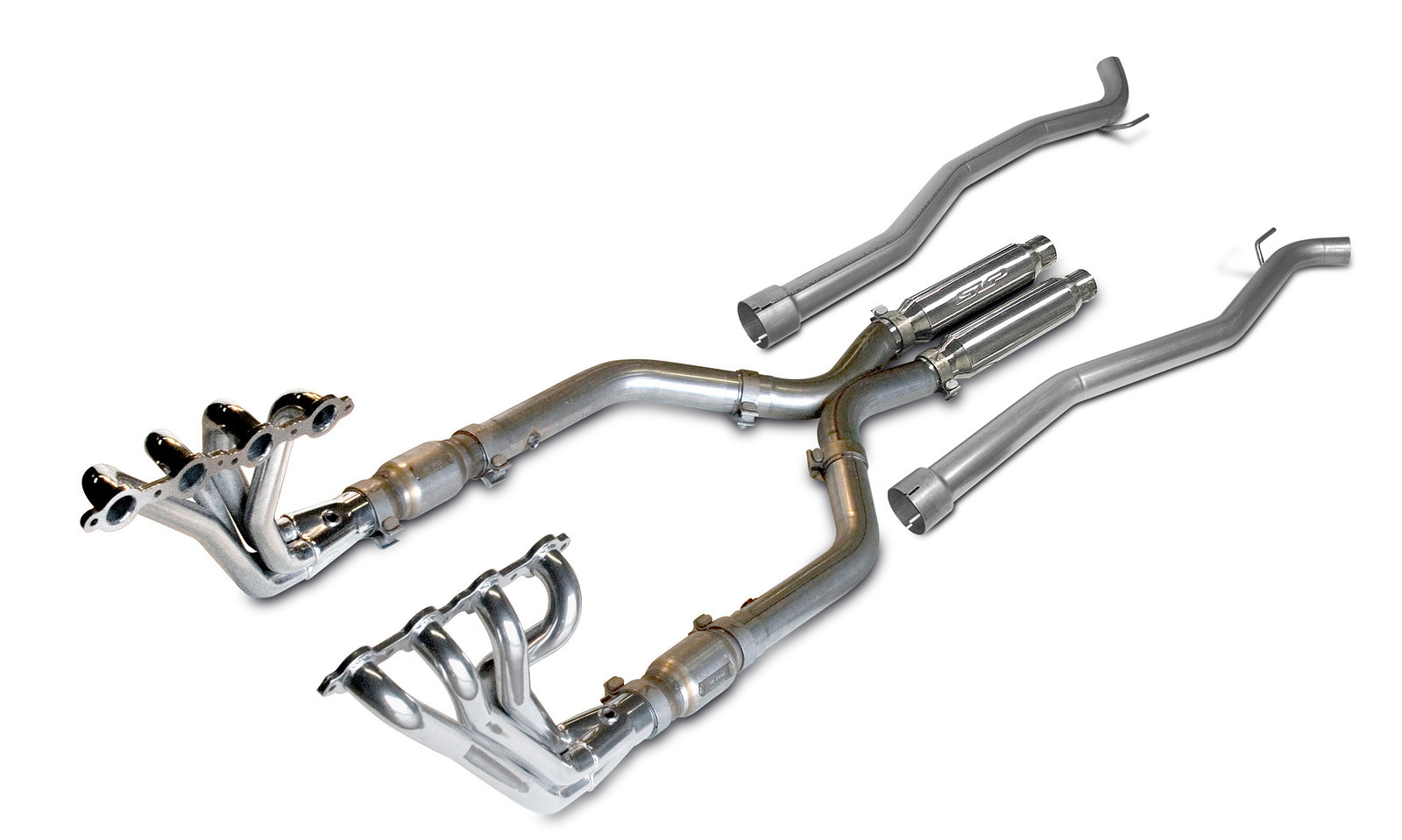 2010-2015 Camaro V8 Coupe Header Package - Long Tube Header, Assembly, LoudMouth II