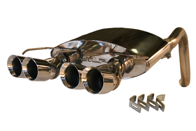 2005-2008 Corvette PowerFlo Exhaust System - Round Tips