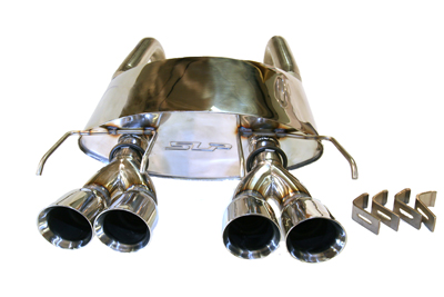 2005-2008 Corvette PowerFlo Exhaust System - Round Tips Image #