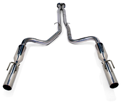 2005-2006 GTO LoudMouth II Exhaust System - PowerFlo-X Crossover Pipe