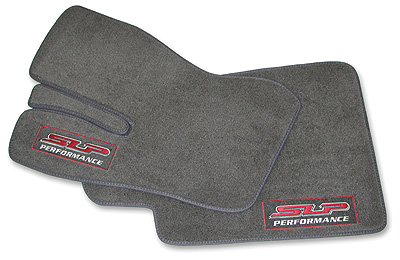 1998-2002 Camaro/Firebird Floor Mat Set - Dark Gray w/SLP Logo