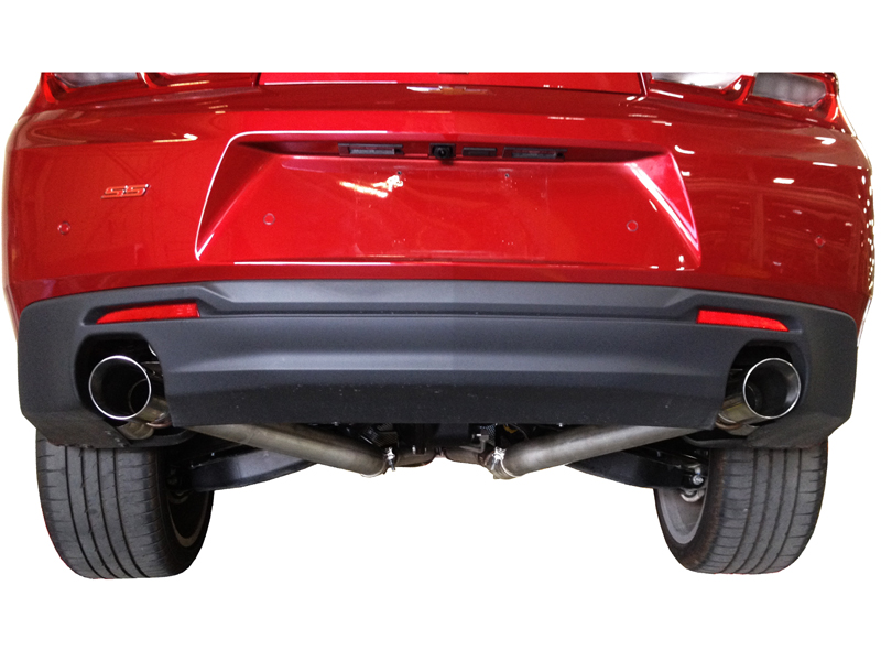2016 Camaro 2.0L Turbo I-4 and 3.6L V6 - LoudMouth 3-inch Axle-Back Muffler Eliminator Exhaust Kit Image #