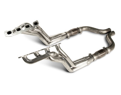 2005-2007 Charger/Magnum/300 6.1L Long Tube Headers, Cats, Works On SLP Exhaust