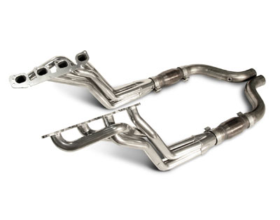 2008-2014 Challenger SRT 6.1L and 6.4L Coated Long-Tube Headers Use With Factory Exhaust