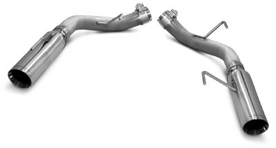 "2005-2010 Mustang GT/GT 500 LoudMouth Axle-Back Exhaust - 3.5"" Tips"